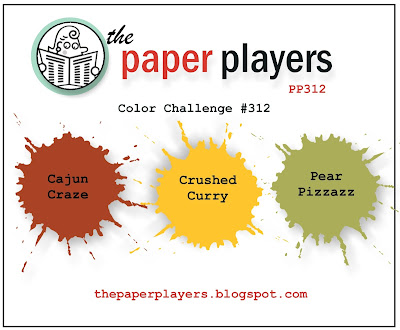 Stampin' Up! Color Inspiration: Cajun Craze, Crushed Curry, Pear Pizzazz