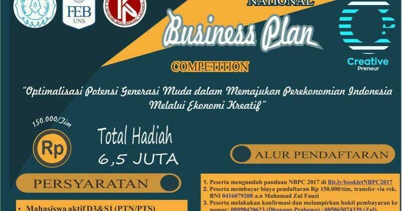 Contoh Deskripsi Usaha Dalam Business Plan - Rasmi Ru
