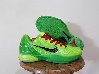 Nike Zoom Kobe 6 Green Premium, sepatu basket nike kobe, harga nike kobe, harga basket nike