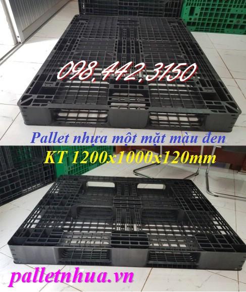 Thanh lý pallet nhựa 1200x1000x120mm