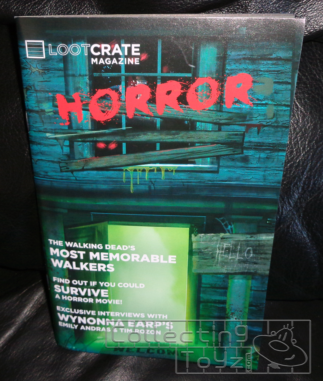 collecting toyz unboxing the horror loot crate
