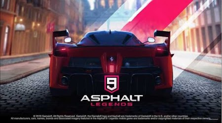 Asphalt 9 Legends List of all supported Android Phones
