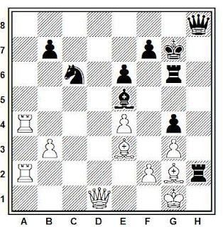 Problema ejercicio de ajedrez número 769: Timman - Ljubojevic (Bruselas, 1988)