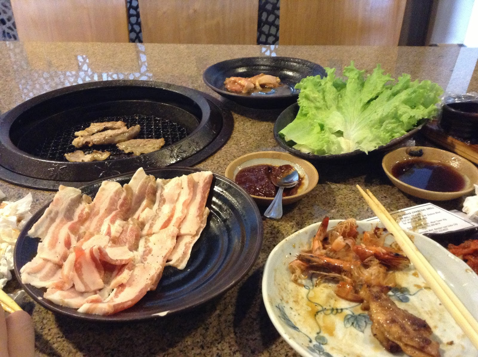 tajimaya yakiniku grill eat all you can mall of asia the foodinista rh thefoodinistaph blogspot com