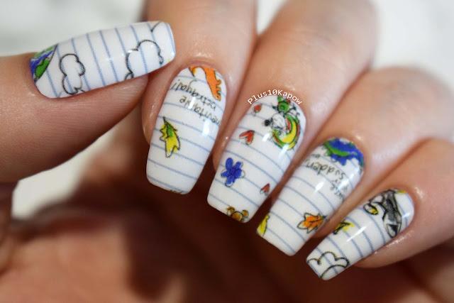 Espionage Cosmetics Serene Sketch Firefly nerdy nails
