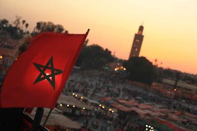 Plaza Jaama el Fna en Marrakech