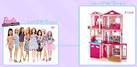Logo ''Trova la tua Barbie'' e vinci gratis 40 bambole Fashionistas e 2 Case dei sogni