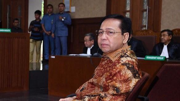 Breaking News: Setya Novanto Divonis 15 Tahun Penjara