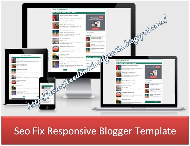 Seo Fix Responsive Blogger Template
