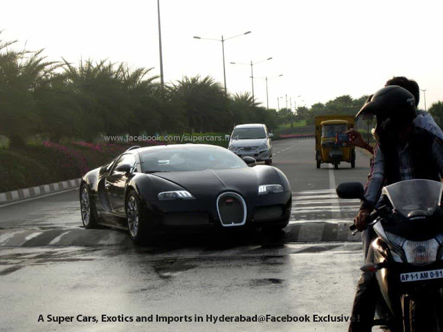 Driving an Exotic car in india