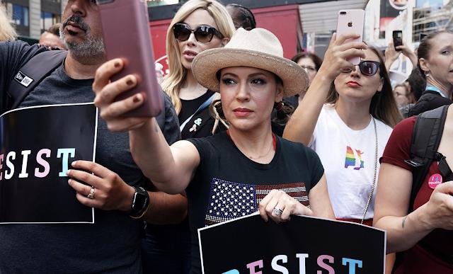 Alyssa Milano Calls for 'Sex Strike' to Protest Pro-Life Law