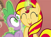 Sunset Shimmer Interactiva MLP