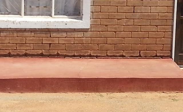 Pitting and washing away of Interlocking Stabilised Soil Bricks