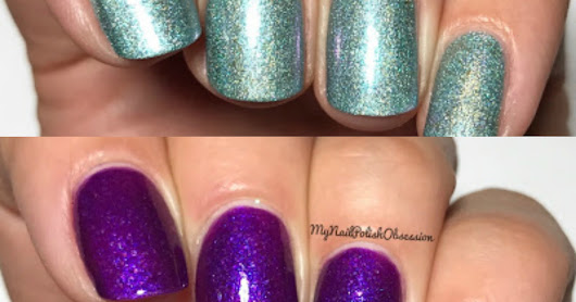 ellagee Exclusives for Girly Bits Cosmetics; Gossamer and Dreamspell