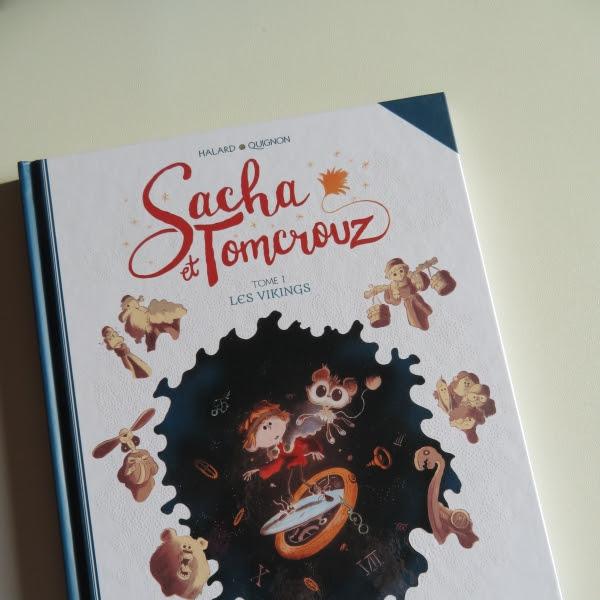 Sacha et Tomcrouz, tome 1 : les Vikings de Bastien Quignon et Anaïs Halard