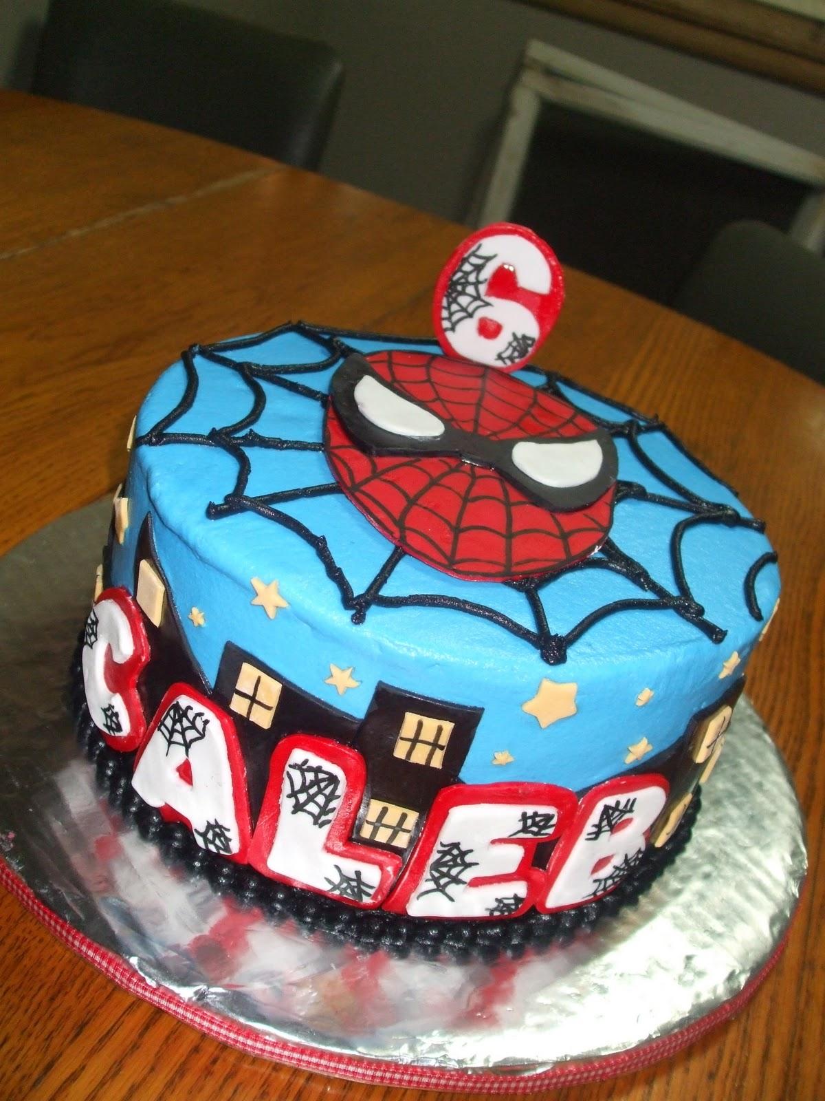 Cakes By Paula Spiderman Cake