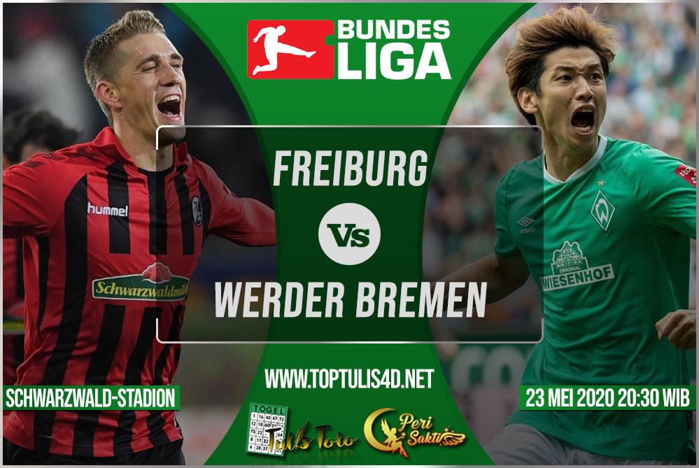 Prediksi Freiburg vs Werder Bremen 23 Mei 2020