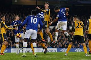 [Photo] Alexis Sanchez Bags Amazing Record Despite Loss At Everton
