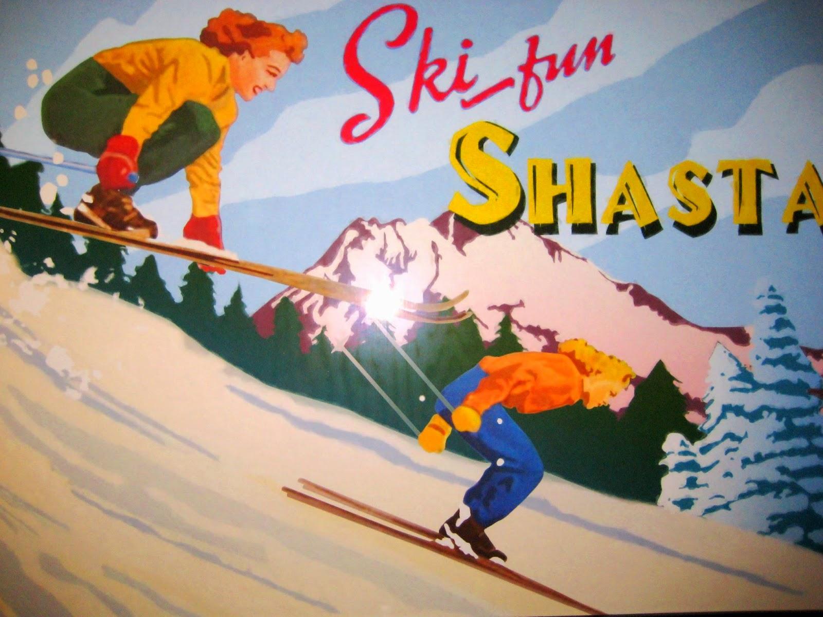 Ski fun shasta