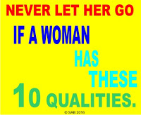 great qualities in a woman