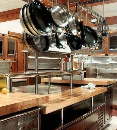 Commercial Refrigerator In Kitchen Island