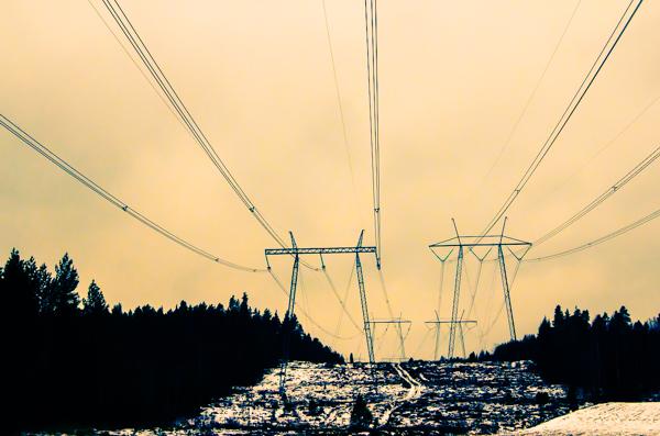 sähkölinjat sähköjohto voimalinja voimajohto