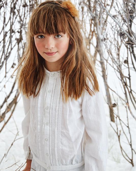Blusas para nenas invierno 2017.