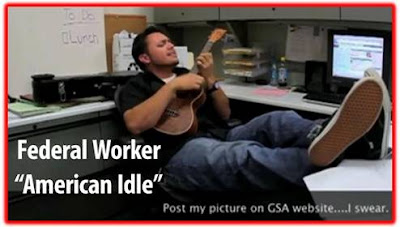 Federal Worker American Idle