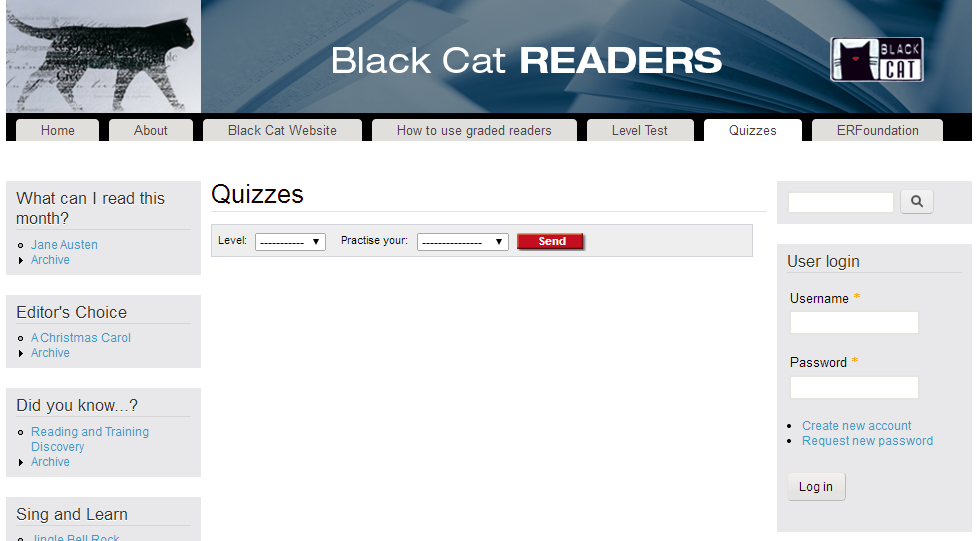 http://www.blackcatreaders.com/quizzes