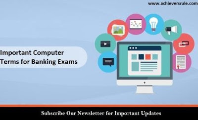 Important Computer Terms for Banking Exams