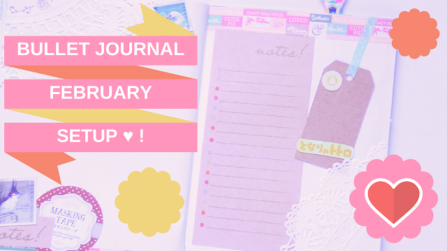 KooriStyle, Koori Style, Bullet Journal, Bullet Journal Ideas, Bullet Journal Setup, Setup, February Setup, Plan with me, planner, planning, cute planners, cute bullet journal, cute stationery, stationery, lace, scrapbooking, Bullet Journal Español, Bullet Journal English, Bullet Journal Beginners, Bullet Journal Setup