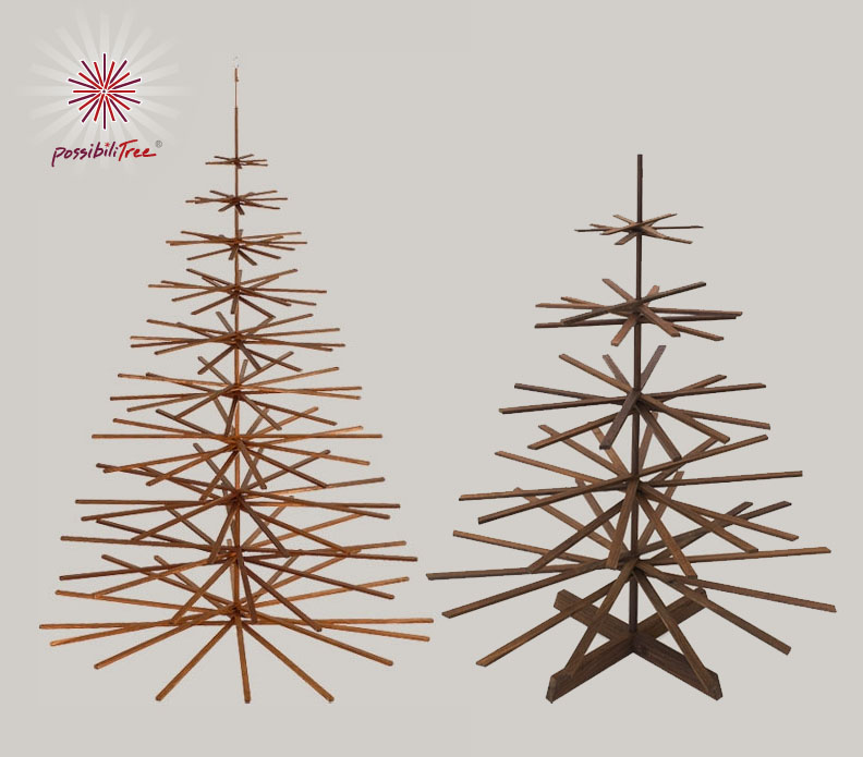 modern wood christmas tree by architect makes a smart and stylish alternative possibilitree - Wood Christmas Tree