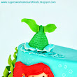 Sugar Sweet Cakes and Treats: Little Mermaid Cake