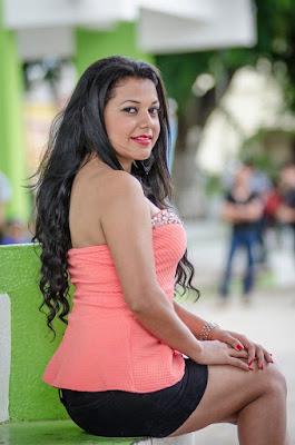 chica linda de guatemala