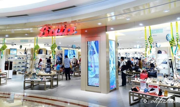 Oh fish iee raya fashion shopping haul walk comfortably for Closest fishing store