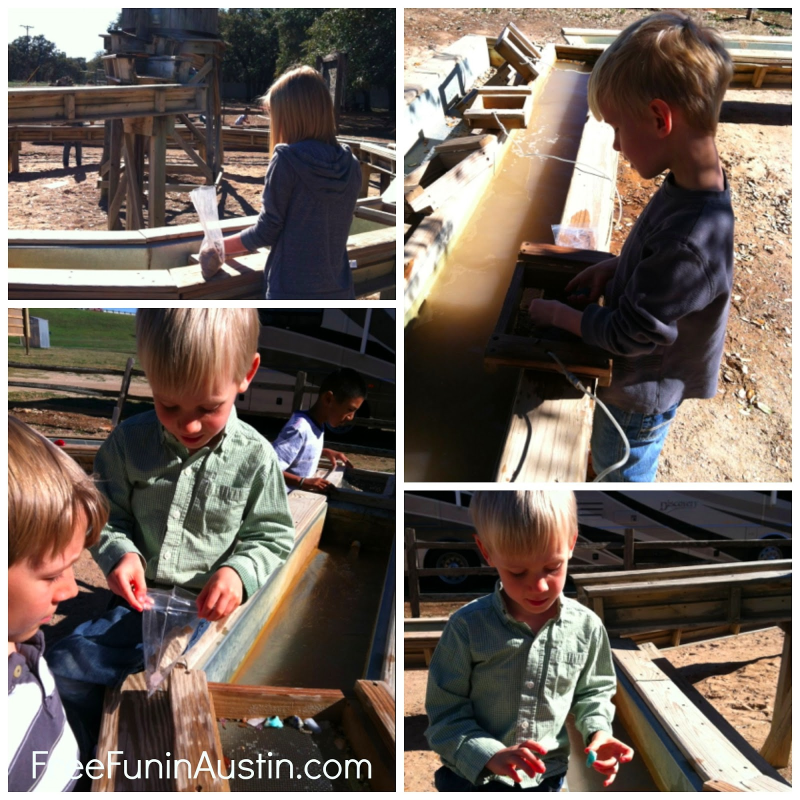 Mining for Gemstones at Inner Space Mine | Free Fun in Austin