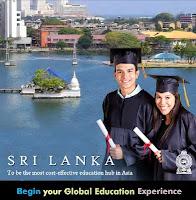 Foreign Students apply to Sri Lankan Universities