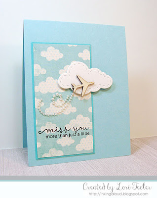 Miss You More Than Just a Little card-designed by Lori Tecler/Inking Aloud-stamps from Mama Elephant