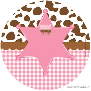 Little Cowgirl: Free Printable Cupcake Wrappers and Toppers.