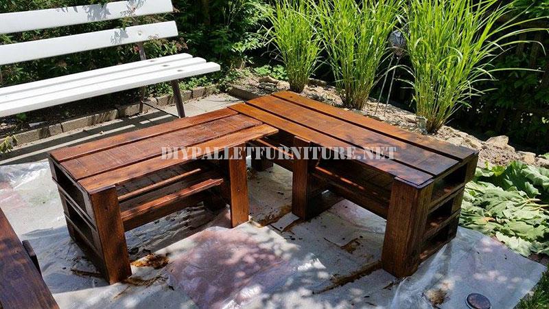 Banco Esquinero Para El Jardin Con Palets Mueblesdepalets Net