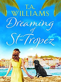 Blooming Fiction, Book cover of Dreaming Of St Tropez