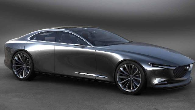 Mazda Kai Concept and Vision Coupe