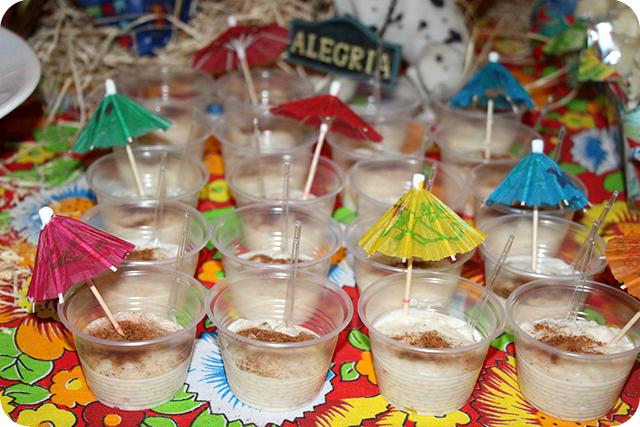 Decoração de Festa Caipira - Junina : Arroz Doce