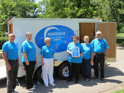 Blessing of Disaster Relief Trailer