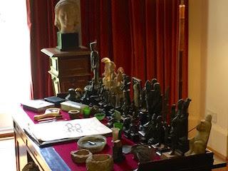 Freud's Desk, Freud's Study, Freud Museum, 20 Maresfield Gardens, London