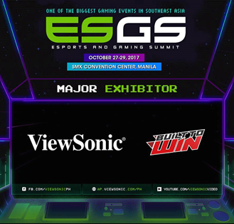 ViewSonic Will Showcase XG Series Gaming Monitors At ESGS 2017