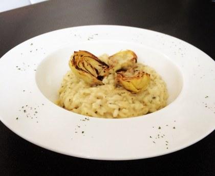 Risotto with artichoke delights