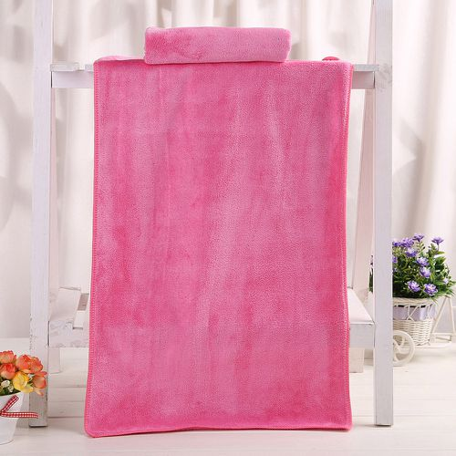 1PC Bathing Towel Shower Absorbent Superfine Fiber Soft Comfortable Bath Towel