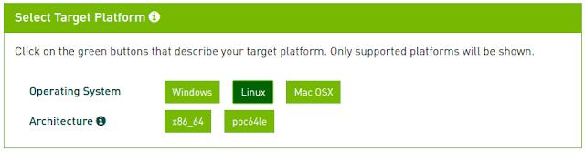 Nvidia CUDA Linux
