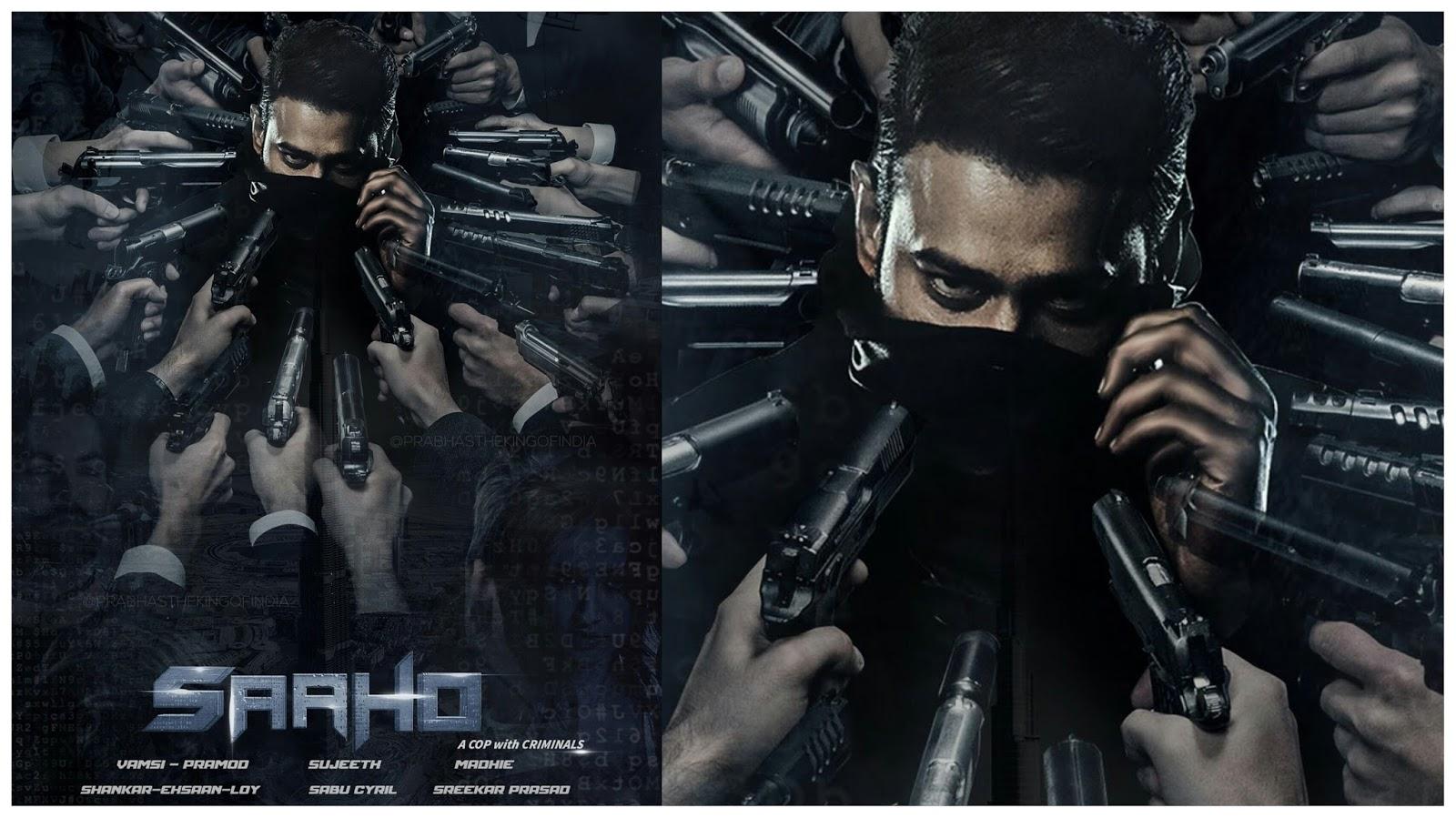 Prabhas 2 PrabhasFans: Saaho Movie Latest Posters